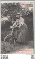THAON LES VOSGES Mme DELAIT CYCLISTE MEMBRE DU CYCLE THAONNAIS 1905 TBE - Thaon Les Vosges