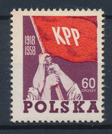 POLEN / POLAND / POLSKA  -  1958  ,   40 Jahre Kommunistische Partei Polens   -  Michel  1079  MNH / ** - Ongebruikt