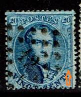 15b  Obl  Griffe Oblique à Droite - 1863-1864 Médaillons (13/16)