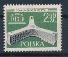 POLEN / POLAND / POLSKA  -  1958  ,   Einweihung - Neuer Amtsitz Der UNESCO In Paris  -  Michel  1075  MNH / ** - Unused Stamps