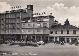 LIDO DI JESOLO-VENEZIA-PIAZZA MAZZINI-HOTEL=PRINCIPE=CARTOLINA VERA FOTOGRAFIA- VIAGGIATA IL 4-7-1958 - Venezia (Venice)