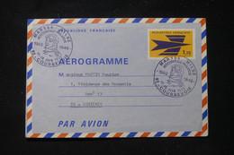 FRANCE - Oblitération Commémorative De Courbevoie Sur Maryse Hilsz Sur Aérogramme En 1972 - L 90581 - Air Post
