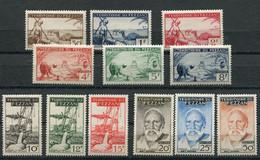 FRANCE EX-Colonie Fezzan N° 56 à 67 Neuf XX MNH Cote 60,00€ - Ongebruikt