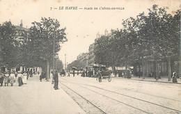 CPA 76 Seine Maritime Le Havre Place De L'Hotel De Ville - Tramway - - Altri