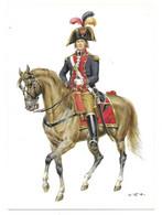 BELGISCHE STAATEN  1789  -  PATRIOTISCHE ARMEE - GENERAL  (ARTIST  W. TRITT) - Uniformes