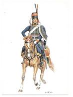 BATAVISCHE REPUBLIK  1795  -  HUSAR  (ARTIST  W. TRITT) - Uniformes