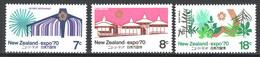 Nuova Zelanda 1970 Y.T.501/03 **/MNH VF - Neufs