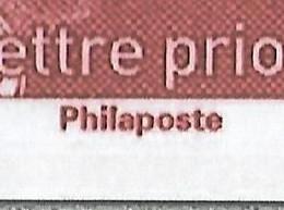 France 2021 - Marianne L'engagée - Lettre Prioritaire ** -  (avec La Mention Philaposte Au Lieu De Phil@poste) - Neufs