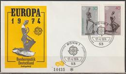BRD FDC 1974 Nr.804-805 Europa ( D 4274 ) Günstige Versandkosten - FDC: Enveloppes