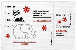Austria - 2020 - Coronavirus - Covid-19 - Mint Souvenir Sheet Made From Real Toilet Paper - 2011-... Nuevos & Fijasellos