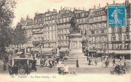 75 PARIS LA PLACE CLICHY - Squares