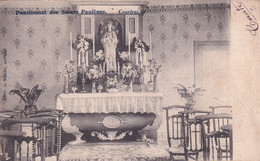 KORTRIJK / PENSIONAAT ZUSTERS PAULINES / KAPEL  1905 - Kortrijk