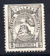 Telegrafo Municipal  Nº 13  Villada - Beneficiencia (Sellos De)