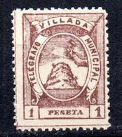 Telegrafo Municipal  Nº 16  Villada - Beneficiencia (Sellos De)