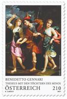 Austria - 2021 - Art On Stamps - Benedetto Gennari - Theseus With Daughters Of Minos - Mint Stamp - 2011-... Nuevos & Fijasellos