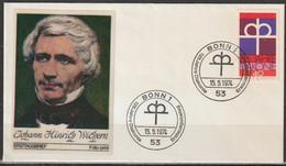 BRD FDC 1974 Nr.810  125 Jahre Diakonie  (d 4299 )Günstige Versandkosten - FDC: Enveloppes