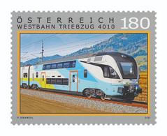 Austria - 2021 - Railways In Austria - WESTBahn - 4010 Train - Mint Stamp - 2011-... Nuevos & Fijasellos