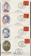 BRD FDC 1974 Nr.791-794 Bedeutende Deutsche Frauen ( D 4258 )Günstige Versandkosten - FDC: Enveloppes