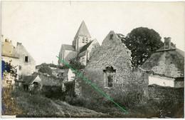 14-18.WWI Allemande Carte Photo. RID Nr.13.Regio Aisne Meuse ? Cerney.Chamouille.Chivy.(1-18) - 1914-18