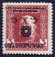 SHS BOSNA - BOSNIA & H. - JUGOSLAVIA - ERROR OVPT. INVERTED - **MNH - 1918 - Nuovi
