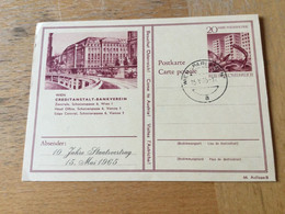 GÖ1943 Österreich Ganzsache Stationery Entier Postal P 431 44/8 Wien Creditanstalt - Bankverein - Enteros Postales