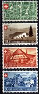 Suisse 1945 Fête Nationale 419/422* - Unused Stamps