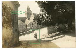 14-18.WWI Allemande Carte Photo.13 RD.Regio Aisne Meuse ? Cerney.Chamouille.Chivy. Eglise .Chemin Des Dames (17-18) - Guerra 1914-18