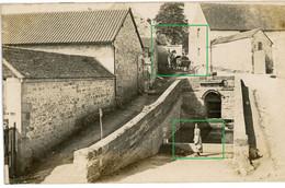 14-18.WWI Allemande Carte Photo.13 RD.Regio Aisne Meuse ? Cerney.Chamouille.Chivy. Wäscherin Chemin Des Dames (14-18) - Guerra 1914-18
