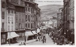 Tarare - Rue Pécherie Et Le Marché - Tarare