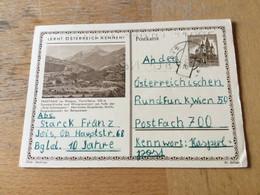 GÖ1943 Österreich Ganzsache Stationery Entier Postal P 373 62 Frastanz - Enteros Postales