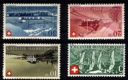 Suisse 1947 Fête Nationale 437/440* - Unused Stamps