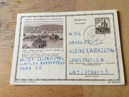 GÖ1943 Österreich Ganzsache Stationery Entier Postal P 389II 88/25 Maria Wörth Tennis - Enteros Postales