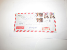 Peru Airmail Cover Lima To Czechoslovakia - Perù