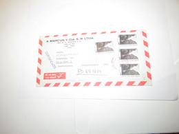 Peru Airmail Cover Lima To Czechoslovakia 1987 - Perù