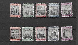 1940 MNH Greece Airmail 437-446 Postfris** - Unused Stamps