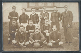 CARTE PHOTO 71 - Chauffailles, L'équipe Seconde Du Club De Football - Andere Gemeenten