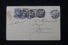 FRANCE - Taxes De Saint Servan Sur Carte Postale De Châteauneuf En 1905 - L 90635 - Lettres Taxées