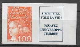 FRANCE - MARIANNE DE LUQUET Nº3101a   MNH  NEUF - 1900-27 Merson