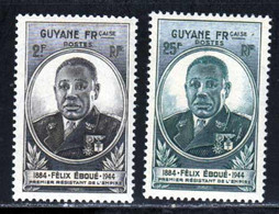 Guyane 1945 Yvert 180 / 181 ** TB - Neufs