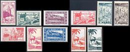 Maroc 1945 Yvert 224 - 226 - 228 / 231B - 233 / 235 ** TB - Ungebraucht