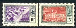 Maroc 1951 Yvert 302 / 303 ** TB Bord De Feuille - Ungebraucht