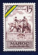 Maroc 1952 Yvert 319 ** TB Bord De Feuille - Ungebraucht