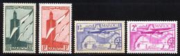 Maroc PA 1939 Yvert 43 / 46 ** TB - Poste Aérienne