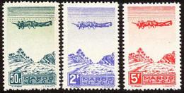 Maroc PA 1944 Yvert 50 / 52 ** TB - Poste Aérienne