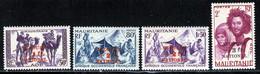 Mauritanie 1941 Yvert 119 / 122 ** TB - Neufs