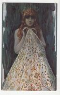 S. Solomko: Perle De La Création Old Postcard Posted 1917 Osijek To Zagreb - Censored Osijek B210301 - Paintings