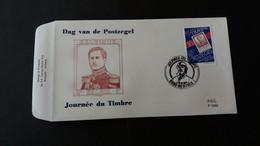 """FDC Belgique:  Timbres Numéro 2550 """"Journée Du Timbre"""" - 1991-00"""