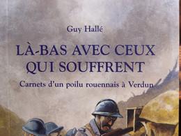 """LIVRE WW1  """" LA-BAS AVEC CEUX QUI SOUFFRENT """" ( 3e CA, 5e DI, 74e RI ) REEDITION 2002 EPUISE ! - 1914-18"""