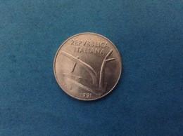 1991 ITALIA REPUBBLICA MONETA DA 10 LIRE SPIGHE FDC UNC DA ROTOLINO ITALY COIN - 10 Lire