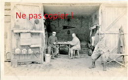 PHOTO FRANCAISE 322e RIT - POILUS AU CAMP OTTAWA A PLAILLY PRES DE SENLIS OISE 1915 - GUERRE 1914 1918 - 1914-18